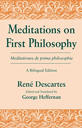an analysis of descartes views on meditation Meditations 3, 4, 5 and 6 are presented in a separate document descartes' original manuscript appeared in 1638 in both latin and french, and the translator notes.