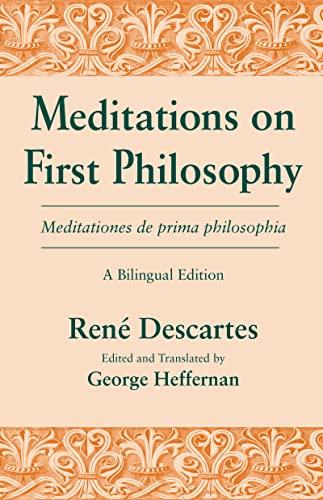 Meditations on First Philosophy - Meditationes de: Ren? Descartes