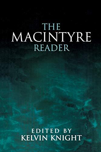 9780268014360: The MacIntyre Reader
