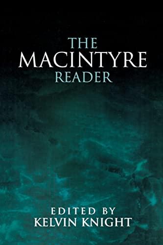 9780268014377: The MacIntyre Reader