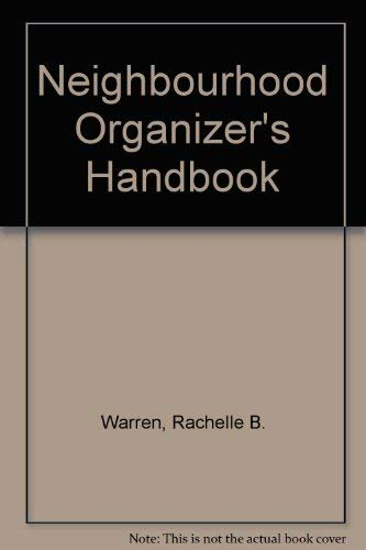 9780268014476: Neighbourhood Organizer's Handbook