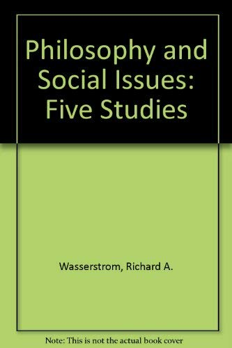 9780268015350: Philosophy and Social Issues: Five Studies
