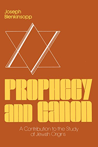 9780268015596: Prophecy And Canon: Theology (Studies of Judaism and Christianity in Antiquity, No 3)