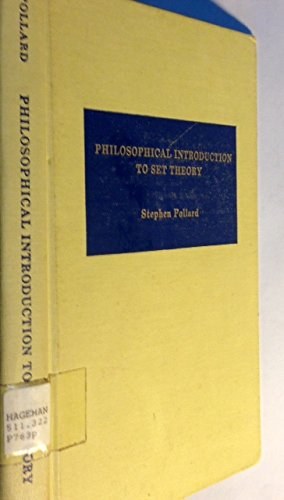 9780268015848: Philosophical Introduction to Set Theory