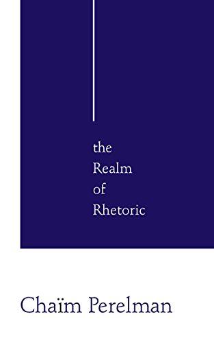 9780268016043: The Realm of Rhetoric