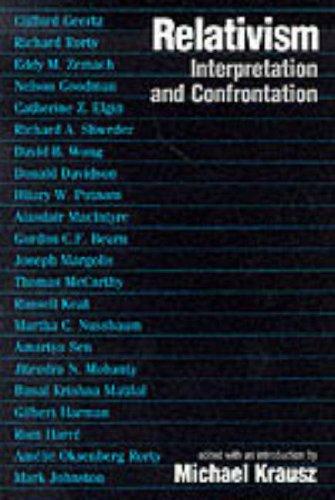 9780268016371: Relativism: Interpretation and Confrontation