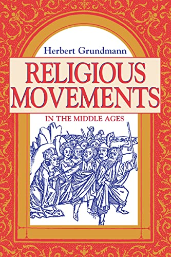 9780268016531: Religious Movements in the Middle Ages