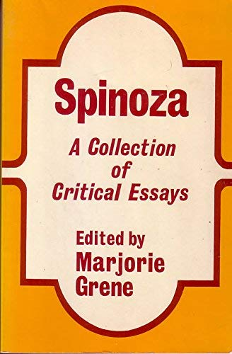 9780268016937: Spinoza: A Collection of Critical Essays