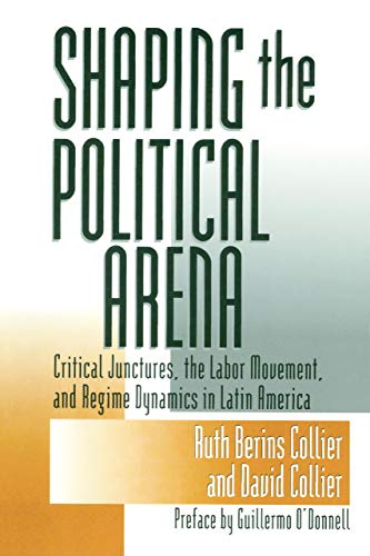 9780268017729: Shaping the Political Arena: Critical Junctures, the Labor Movement and Regime Dynamics in Latin America (Kellogg Inst Int'l S)