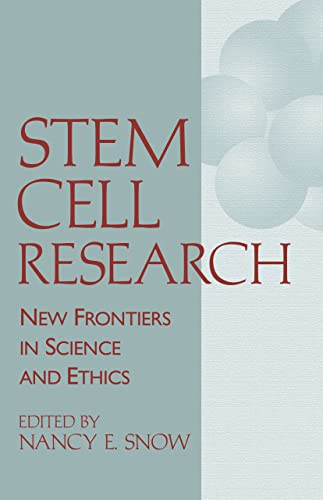 Stem Cell Research; New Frontiers In Science & Ethics
