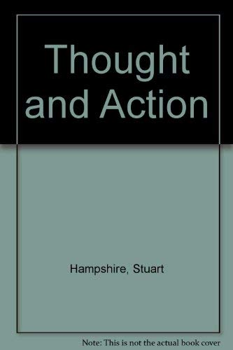 9780268018467: Thought and Action