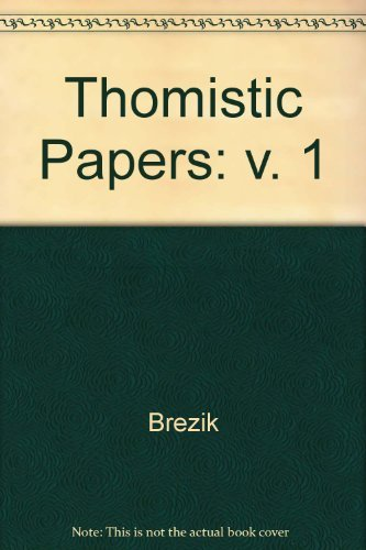 9780268018511: 001: Thomistic Papers