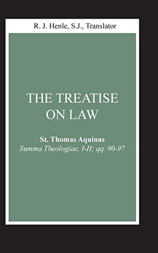 9780268018801: Treatise on Law, The: (Summa Theologiae, I-II; qq. 90-97) (Notre Dame Studies in Law and Contemporary Issues)