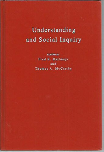 9780268019129: Understanding and Social Inquiry