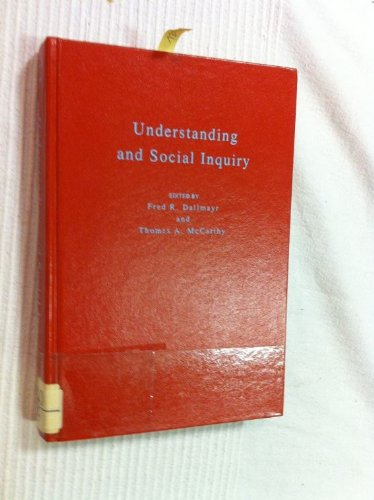 9780268019136: Understanding and Social Inquiry