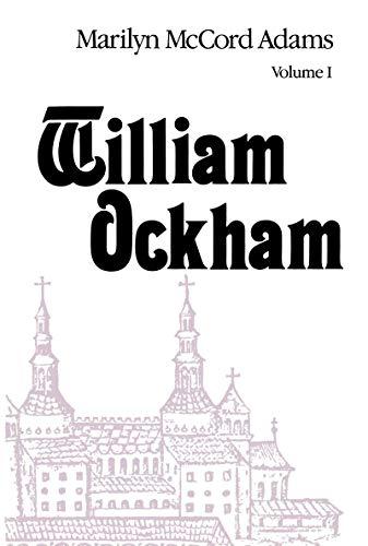 9780268019457: William Ockham 2 Vol. Set (Publications in Medieval Studies)