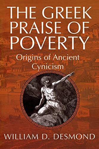 9780268025823: The Greek Praise of Poverty: Origins of Ancient Cynicism
