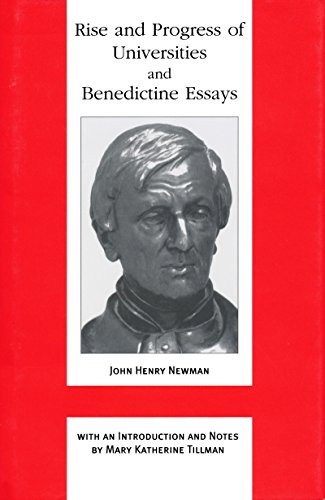 9780268040055: Rise and Progress of Universities and Benedictine Essays (John Henry Newman Works)