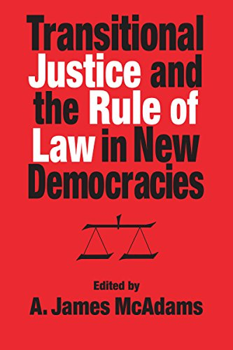 9780268042035: Transitional Justice and the Rule of Law in New Democracies (ND Kellogg Inst Int'l Studies)