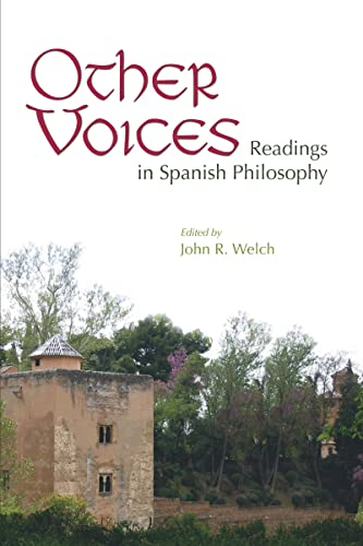 9780268044190: Other Voices: Readings in Spanish Philosophy
