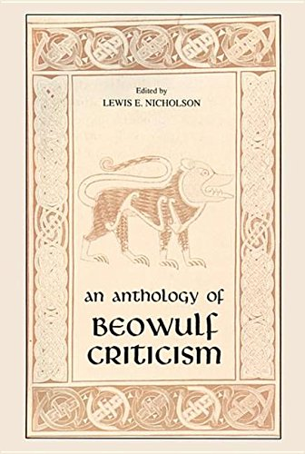 9780268074500: Anthology Of Beowulf Criticism: Philosophy