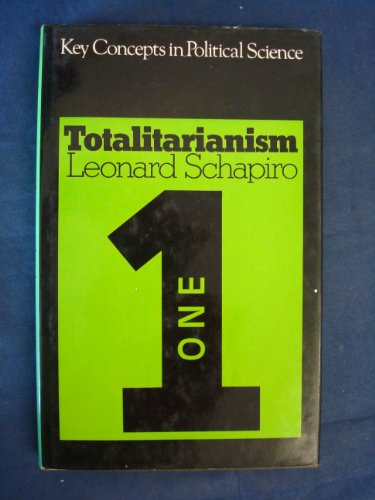 9780269027062: Totalitarianism (Key Concepts in Political Science S.)