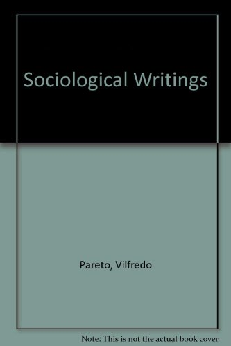 9780269163906: Sociological Writings