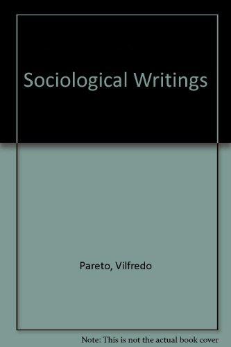 9780269163906: Sociological Writings
