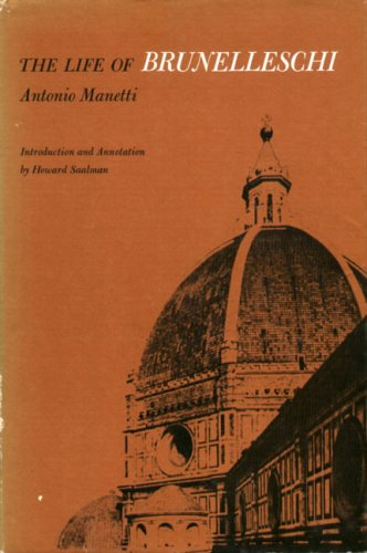 9780271000756: The Life of Brunelleschi (English and Italian Edition)