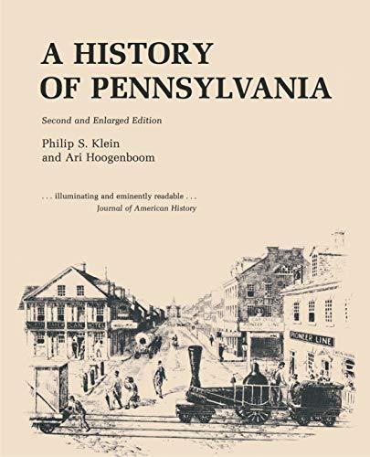 9780271002163: History of Pennsylvania