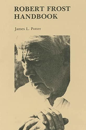 9780271002309: Robert Frost Handbook