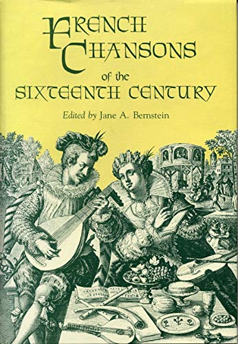 9780271003979: French Chansons of the Sixteenth Century