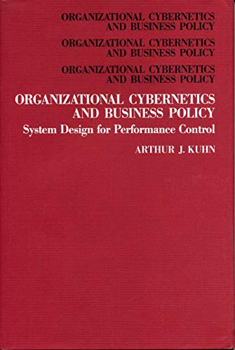 9780271004334: Organizational Cybernetics and Business Policy: System Design for Performance Control