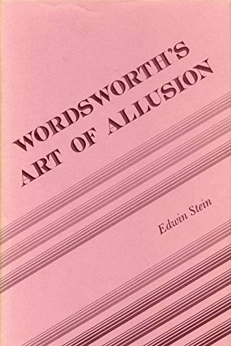 9780271004839: Wordsworth's Art of Allusion