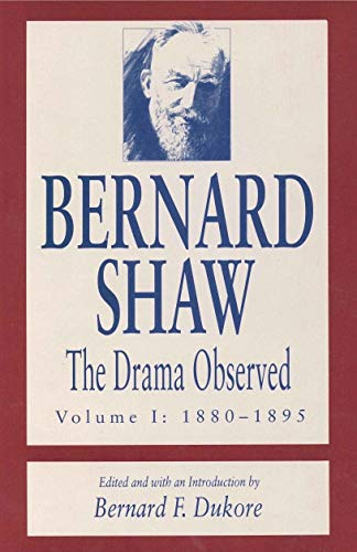 The Drama Observed, 4 vols.: Dukore, Bernard F. (Ed.)