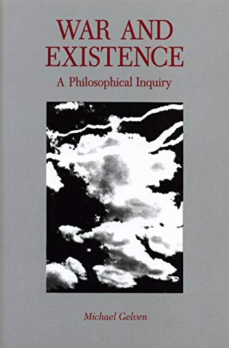 9780271010540: War and Existence: A Philosophical Inquiry