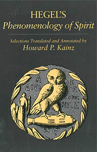Selections from Hegel's Phenomenology of Spirit: Hegel, Georg Wilhelm