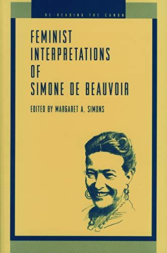9780271014135: Feminist Interpretations of Simone de Beauvoir (Re-Reading the Canon)