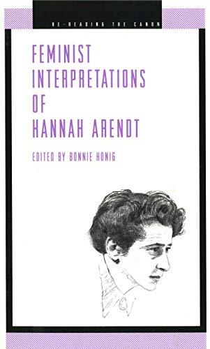 9780271014463: Feminist Interpretations of Hannah Arendt (Re-Reading the Canon)