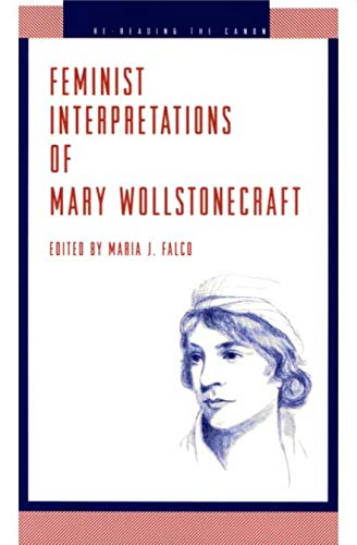9780271014920: Feminist Interpretations of Mary Wollstonecraft (Re-Reading the Canon)