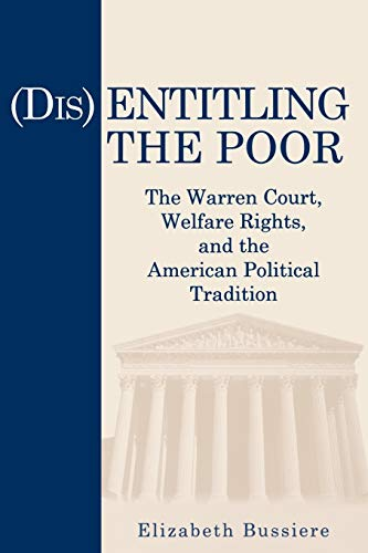 Disentitling the Poor - Ppr.: Bussiere, Elizabeth