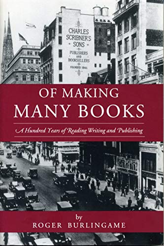 9780271016115: Of Making Many Books: A Hundred Years of Reading, Writing, and Publishing (Penn State Series in the History of the Book)