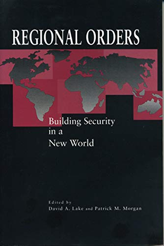 9780271017044: Regional Orders: Building Security in a New World