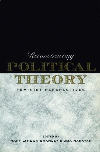 9780271017259: Reconstructing Political Theory: Feminist Perspectives (Monograph Series of the Academy of)