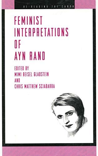 9780271018317: Feminist Interpretations of Ayn Rand (Re-Reading the Canon)