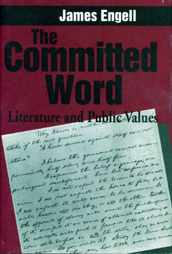 9780271018904: The Committed Word: Literature and Public Values