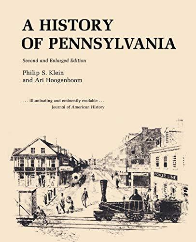 9780271019345: A History of Pennsylvania