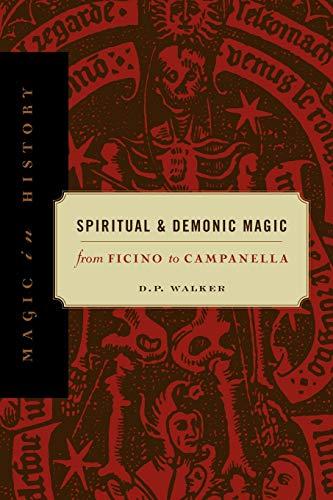 9780271020457: Spiritual & Demonic Magic: From Ficino to Campanella