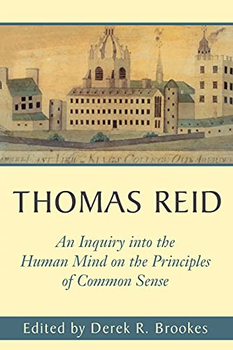 9780271020716: An Inquiry into the Human Mind on the Principles of Common Sense: A Critical Edition