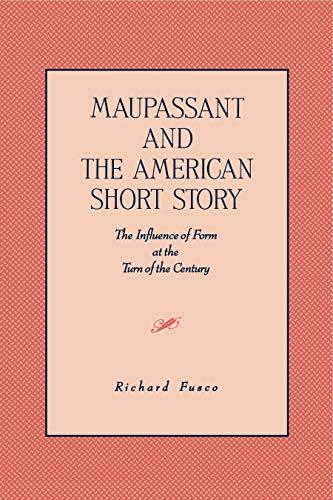 9780271026343: Maupassant & The Amer.: Short Story